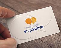 Logotipo Escuela y Familia en Positivo