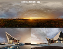 Modern Villa - HDR 250 Sunrise TEST