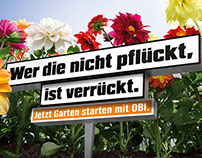 "OBI ""Frühlings-Kampagne"""