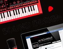 W\SCHWER Music Production - Logo & Visual Identity