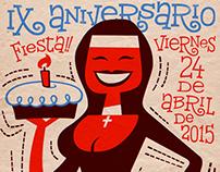 Santa Leonor's Anniversary poster