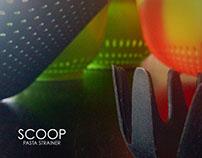 Scoop - Strainer Design