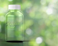 Bottle Design for Dietary Herbal Supplier - Bandung