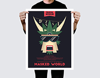 Masked World // Poster