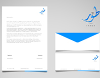 Tawer - Logo & Stationery Design