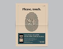 Please, touch. / Il Sole 24 ORE