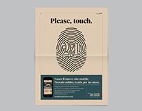 Please, touch. / Il Sole 24 ORE