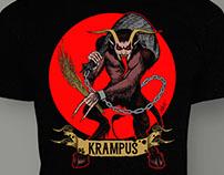 Krampus T-Shirt Design for HauntShirts.com