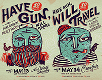HAVE GUN, WILL TRAVEL - 10 Year Anniversary Poster