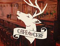 Café du Cerf | rediseño