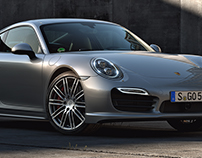 Porsche 911 Turbo – Full CGI