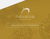 Novalija Jewellery - Web Design/Photography