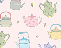 Self Initiated Pattern Exploration: Teapots 1