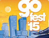 Go 96.3 Radio GoFest '15 Poster