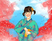 Sakura and Mayori