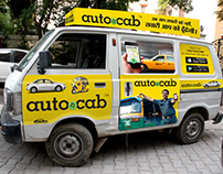 Branding on Wheels for Auto-n-Cab