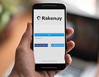 Rakeny mobile app
