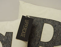 Uppercase Pillows