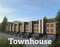 Проект таунхауса   Townhouse project