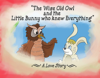 """Wise Owl and Little Bunny"", Children's Book"