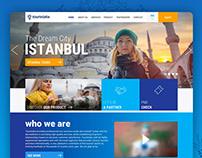 Travel agency UI & UX Design ( Touristalia )