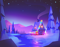 Low Poly Sceneries