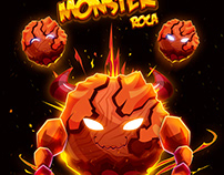 Monster Roca Oscar Creativo