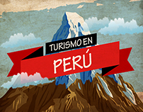 Infographics for tours in Perú