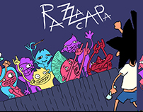 RazzaCapa- illustrated book
