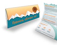 """Mountain I Love You""  - Brochure Design"