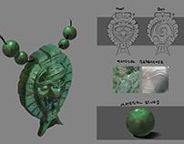 Jade Pendant- prop design