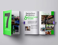 BERLIN IN NEON GREEN –EDITORIAL DESIGN
