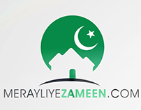 MerayLiyeZameen.com - Logo Reveal Animation