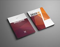 Mockups of the Brochure, Catalog Format A5/A4 (1 free)
