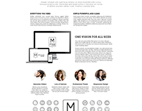Medium Wordpress Theme Web Design