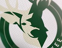 NBA Logo Redesign - Milwaukee Bucks