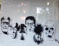 Halloween Mural One
