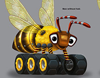 Bumble Bee truck