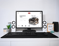 Redesign of cars review web page