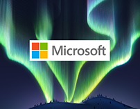 Microsoft Retail Holiday LED