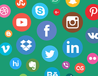 Free Social Icons Module for Joomla