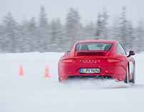 Porsche Winter Driving Experience 2011