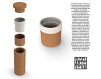 """Cartaz - Chávena de café """"Orgânico"""""""