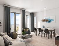 /Pentagon apartment/ Spain/