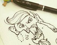 // Ilustração Analógica - Ironic