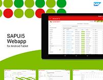 SAPUI5 Store Management Webapp