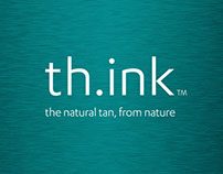Th.ink Tanning Branding, Online Shop and Packaging