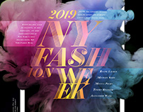 NYFW 2019 Design Poster (Animated)