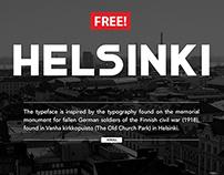 FREE Helsinki Font