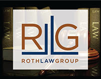 The Roth Group. Logo, Identity.